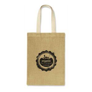 108033 – Zeta Jute Tote Bag