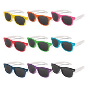 112014 – Malibu Premium Sunglasses – White Arms