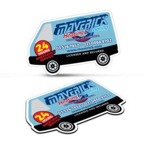 112308 – Fridge Magnet 90 x 55mm – Van Shape