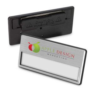 112549 – Magnetic Name Badge