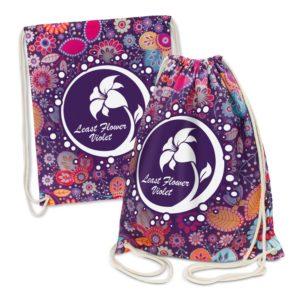 112916 – Brazil Cotton Drawstring Backpack