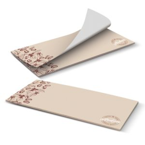 115830 – DLE Horizontal Note Pad – 25 Leaves