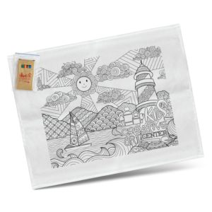116594 – Cotton Colouring Tea Towel
