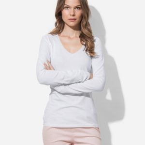 ST9720 – Women's Claire V-neck Long Sleeve