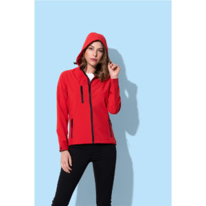ST5340 – Women's Active Softest Shell Hooded Jacket