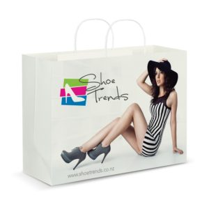 116942 – Extra Large Paper Carry Bag – Full Colour