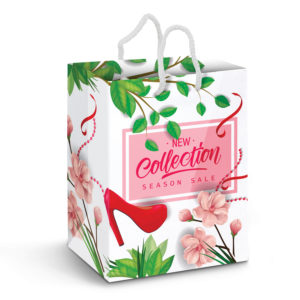 116941 – Large Laminated Paper Carry Bag – Full Colour