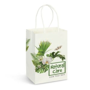 116933 – Small Paper Carry Bag – Full Colour