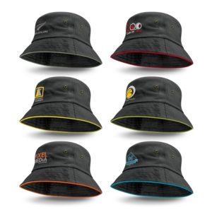 115741 – Bondi Bucket Hat – Coloured Sandwich Trim