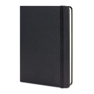 118226 – Moleskine® Classic Leather Hard Cover Notebook – Large