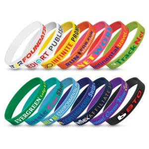 104485 – Silicone Wrist Band – Indent