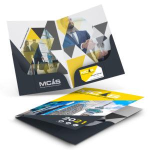 120424 – A4 Presentation Folder with Twin Pockets