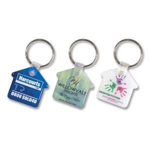 105796 – Flexi Resin Key Ring – House