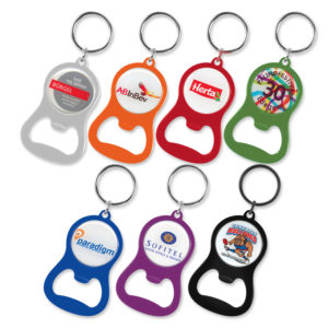 107106 – Chevron Bottle Opener Key Ring